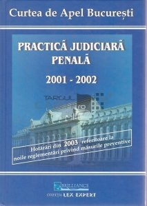 Practica judiciara penala 2001-2002