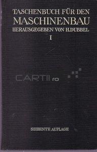 Tachenbuch fur Maschinebau / Manual de inginerie mecanica