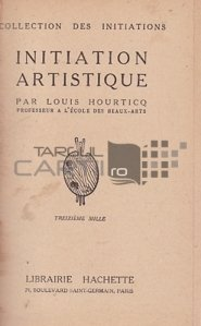 Initiation artistique / Iniere artistica
