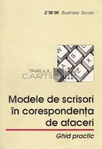Modele de scrisori in corespondenta de afaceri