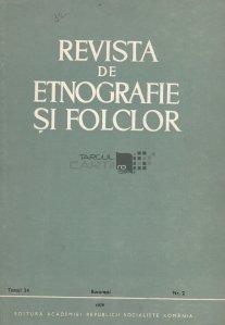 Revista de etnografie si folclor