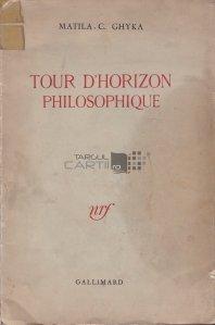 Tour d'horizon philosophique / Tur de orizont filosofic
