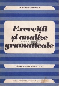 Exercitii si analize gramaticale