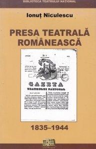 Presa teatrala romaneasca