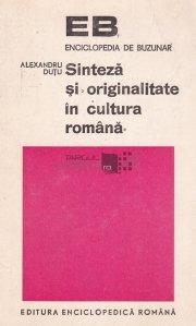 Sinteza si originalitate in cultura romana
