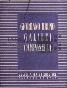 Giordano Bruno/ Galilei/ Campanella