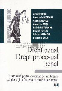 Drept penal. Drept procesual penal