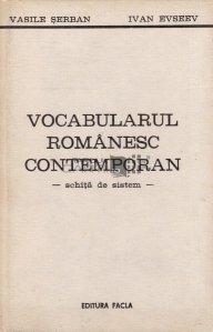 Vocabularul romanesc contemporan