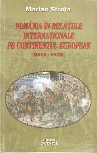 Romania in relatiile internationale pe continentul european 1866-1878