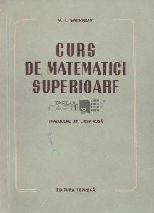 Curs de matematici superioare