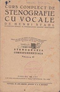 Curs complect de stenografie cu vocale