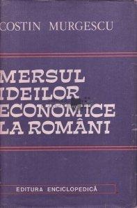 Mersul ideilor economice la romani