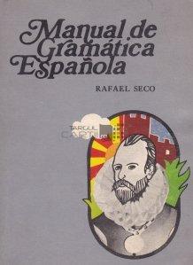 Manual de gramatica espanola