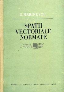 Spatii vectoriale normate