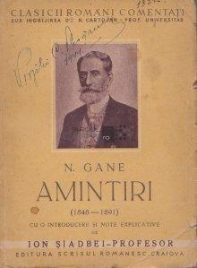 Amintiri (1848-1891)
