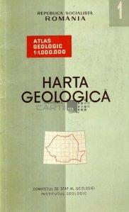 Harta geologica / Carte geologique