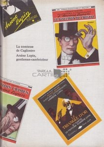 La Comtesse de Cagliostro. Arsene Lupin, gentleman-cambrioleur / Contesa de Cagliostro. Arsene Lupin, gentelam-hot