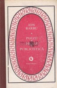 Poezii. Proza. Publicistica