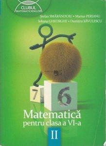 Matematica pentru clasa a VIa