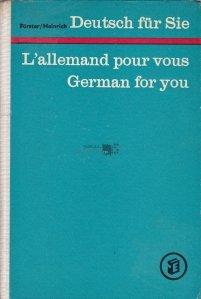 Deutsch fur Sie / L'allemand pour vous / German for you