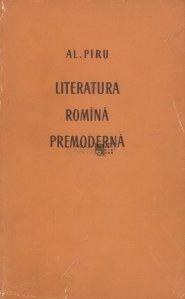 Literatura romina premoderna