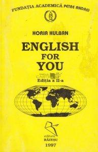 English for You / Engleza pentru tine