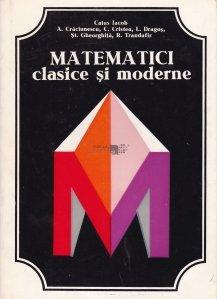 Matematici clasice si moderne