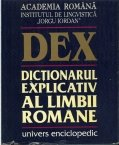 Dictionarul explicativ al limbii romane. Editia a II-a