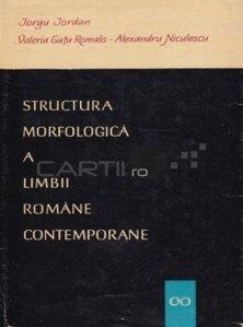 Structura morfologica a limbii romane contemporane