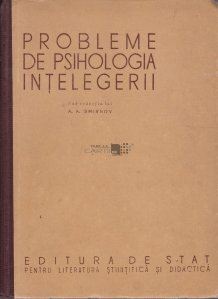 Probleme de psihologia intelegerii