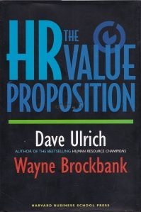 The HR value proposition / Propunerea de valoare HR