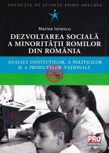 Dezvoltarea sociala a minoritatii romilor din Romania