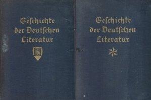 Geschichte der deutschen literatur / Istoria literaturii germane