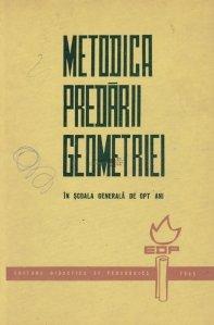 Metodica predarii geometriei