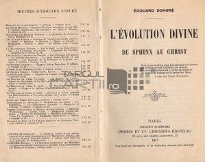 L'evolution divine du sphinx au Christ / Evolutia divina a sfinxului fata de Hristos