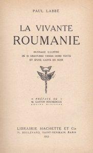 La vivante Roumanie / Romania vie