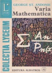 Varia Mathematica