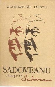 Sadoveanu despre Sadoveanu