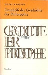 Grundris der Geschichte der Philosophie