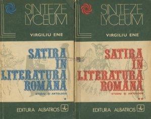 Satira in literatura romana