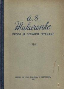 Proza si scenarii literare