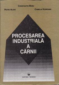 Procesarea industriala a carnii