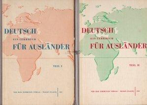 Deutsch ein Lehrbuch fur Auslander / Manual de limba germana pentru straini