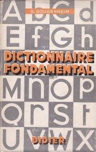 Dictionnaire fondamental de la langue francaise