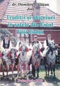 Traditii si obiceiuri in satele din Estul Vaii Jiului