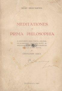 Meditationes de prima philosophia