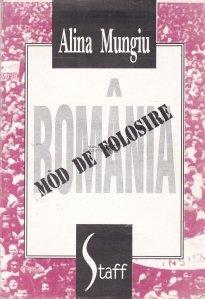 Romania: mod de folosire
