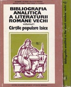 Bibliografia analitica a cartilor populare laice
