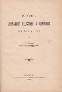 Istoria literaturii religioase a rominilor