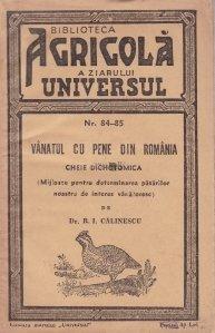 Vanatul cu pene din Romania